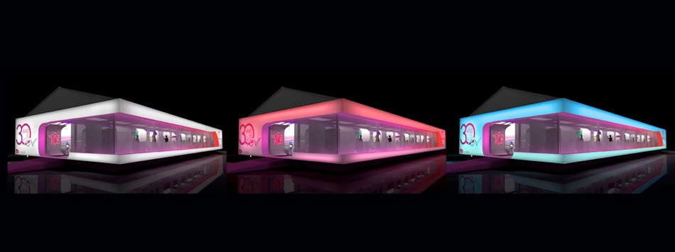 Evenementiel Design Et Architecture Exposition Transport